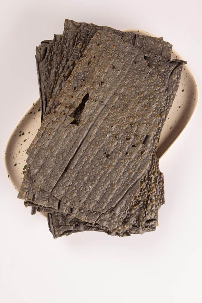 CH004 CH004 Τραγανά φύλλα ζύμης με ενεργό άνθρακα
