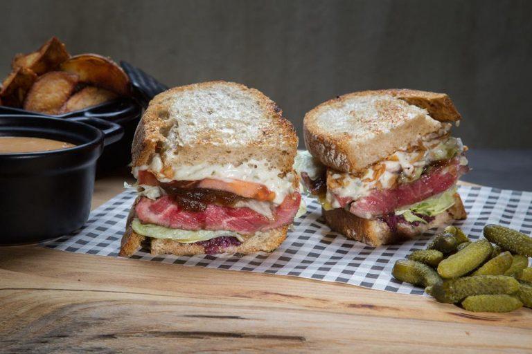 American steak sandwich, 2