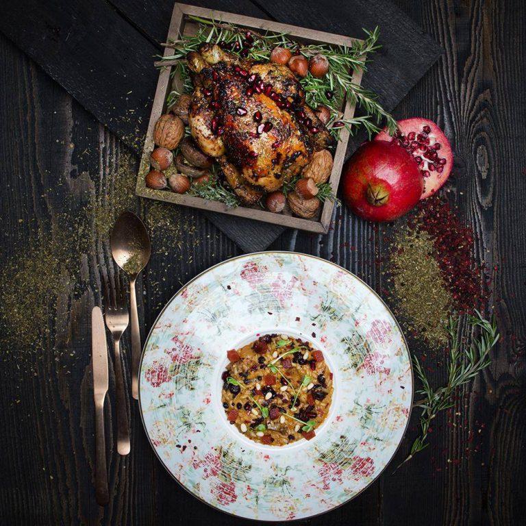 Χριστουγεννιάτικο ριζότο με γαλλικό κοκοράκι, 2