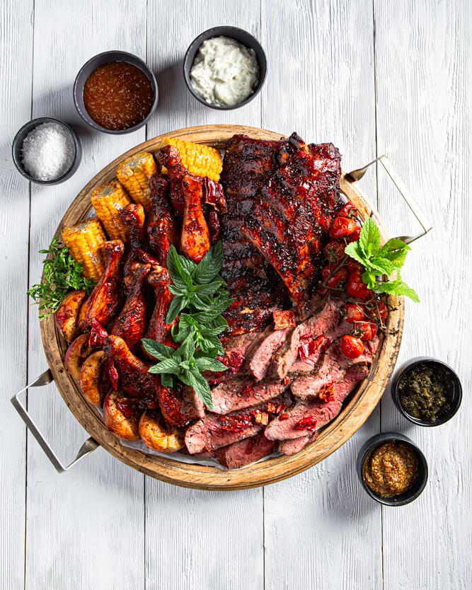 Cowboy grilled platter, Ανδρέας Κλαυδιανός, UMA, 1