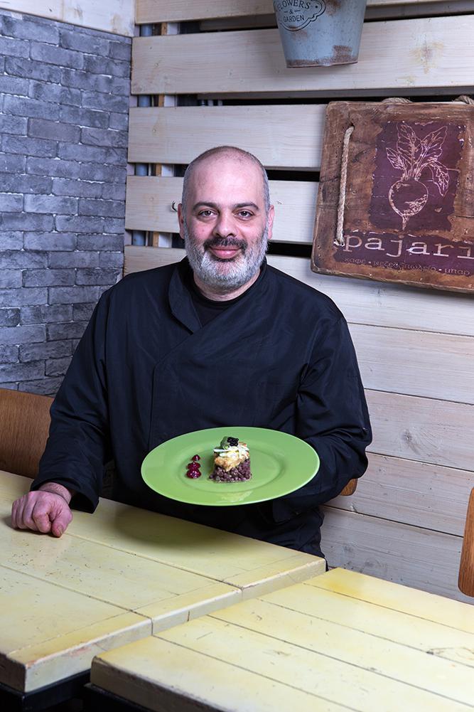 Φασόλια Αζτέκων με κοτόπουλο & χούμους παντζαριού, Pajari, 6