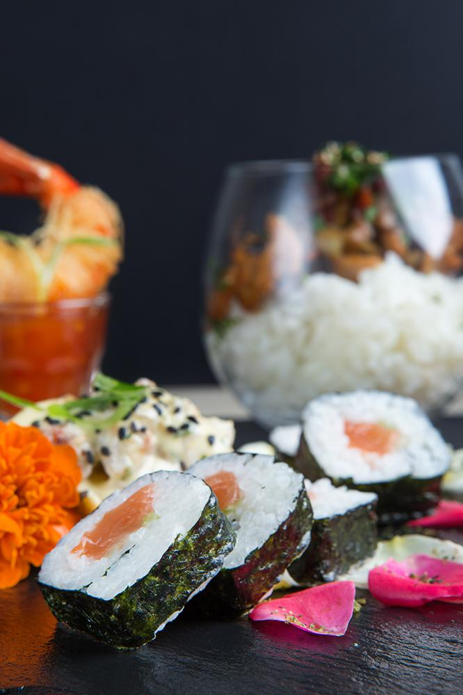 Japanese pallet of flavors, Saki sushi bar,3