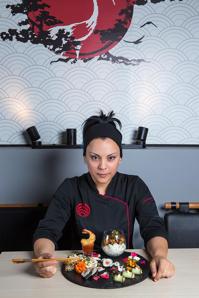 Japanese pallet of flavors, Saki sushi bar,7