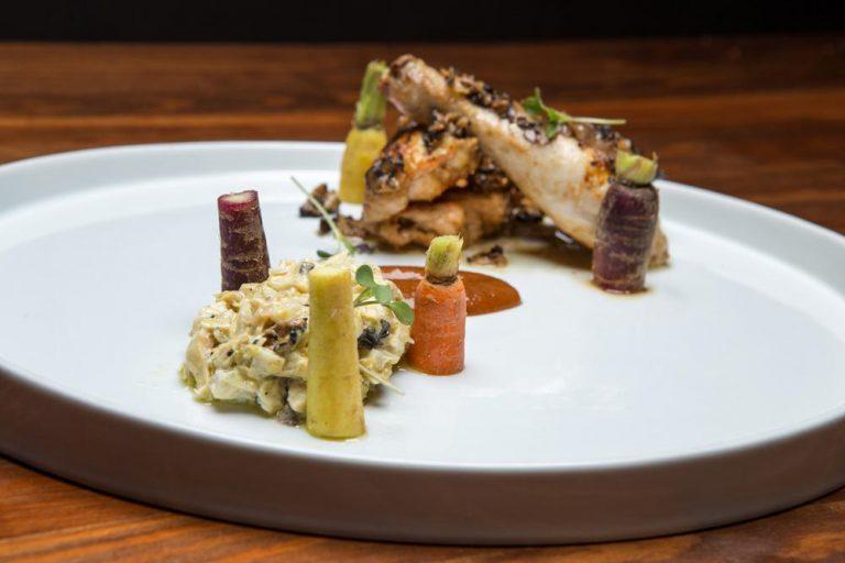 Κοκοράκι με carpaccio τρούφας & brunoise αγκινάρας, Chilai, 3