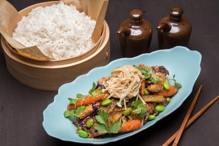 """Κοτόπουλο """"Bali"""" Stir-Fry με λαχανικά, 2"""