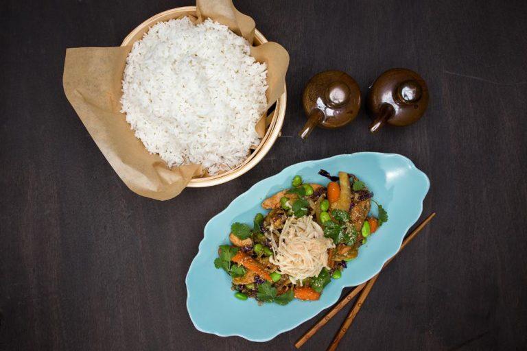 """Κοτόπουλο """"Bali"""" Stir-Fry με λαχανικά, 3"""