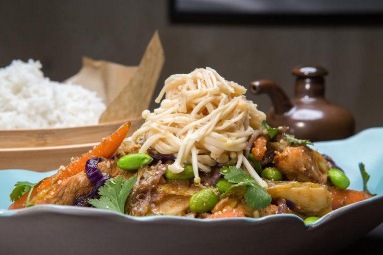 """Κοτόπουλο """"Bali"""" Stir-Fry με λαχανικά, 4"""