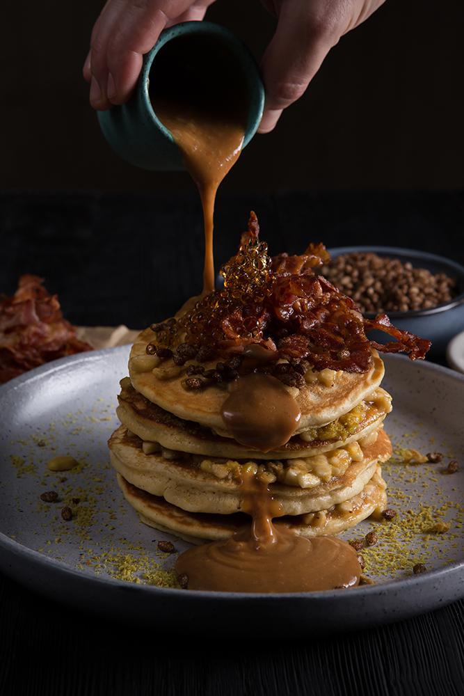 Pancakes Elvis style, 3