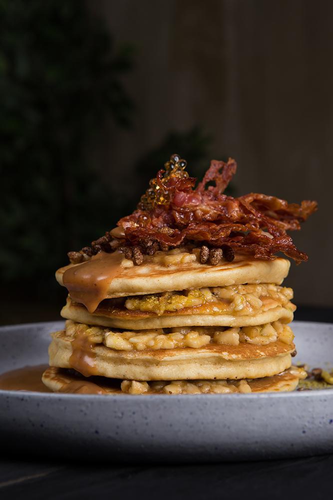 Pancakes Elvis style, 5