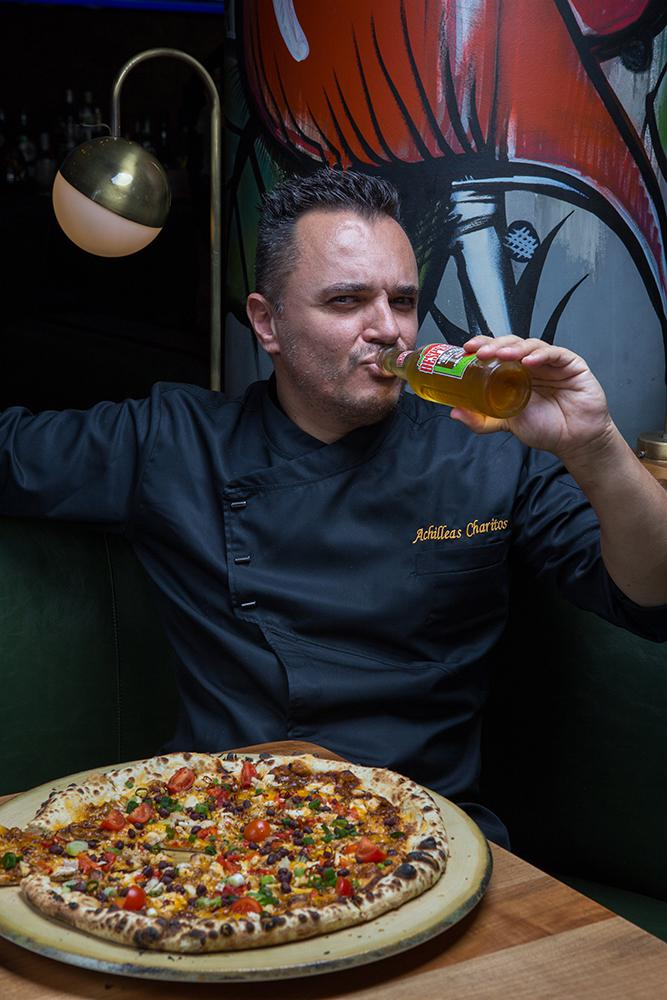 Pizza Mexicana Puebla, Padrino, 7