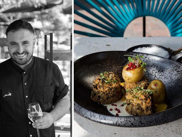 Ψαρονέφρι με κρέμα κολοκύθας & καπνιστή κρέμα τυριών, Kώστας Γιαννόπουλος, Gust, feature