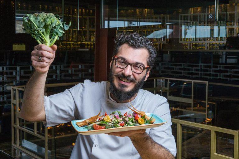 Σαλάτα με όσπρια και ξυρισμένα λαχανικά, Les Zazou, 5