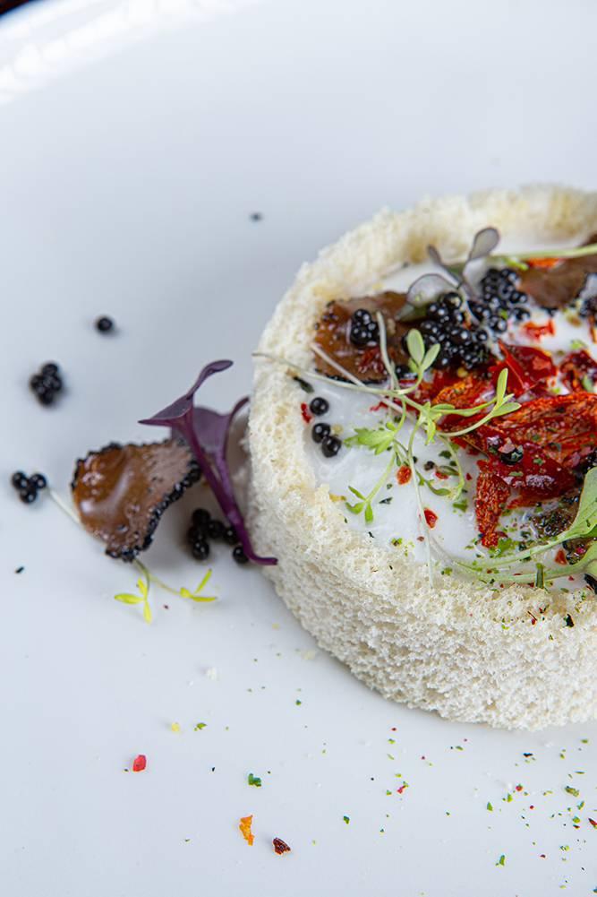 Tartare τσιπούρας με τρούφα, Ηλίας Χιλάλ, Marea, 6