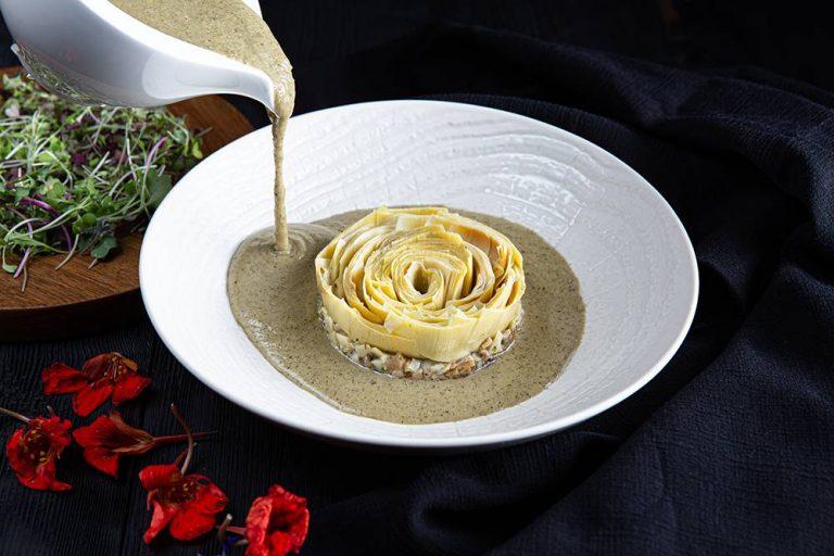 Vegan μαγειρίτσα με κρέμα τόφου, 3