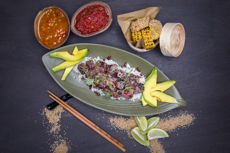 Χαβανέζικο sushi με τόνο, 2