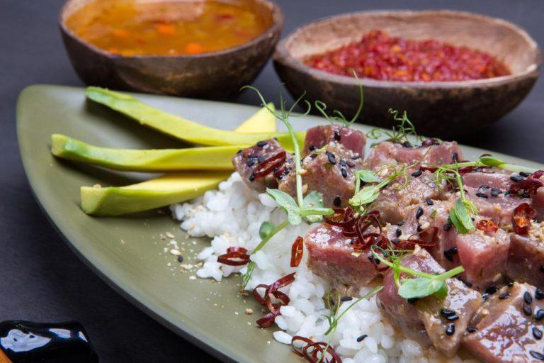 Χαβανέζικο sushi με τόνo, 3