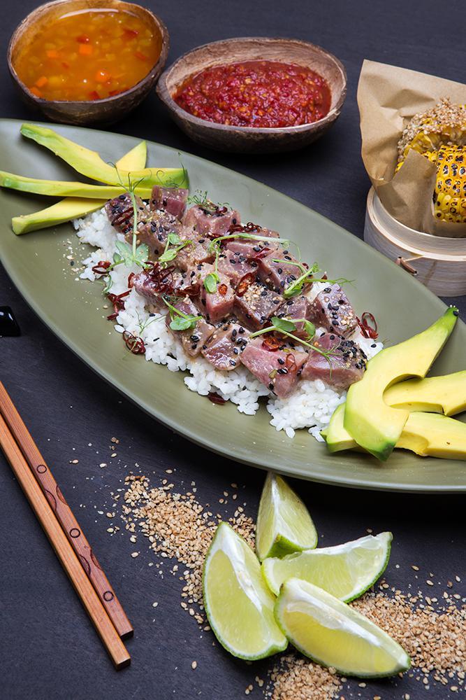 Χαβανέζικο sushi με τόνο, 5