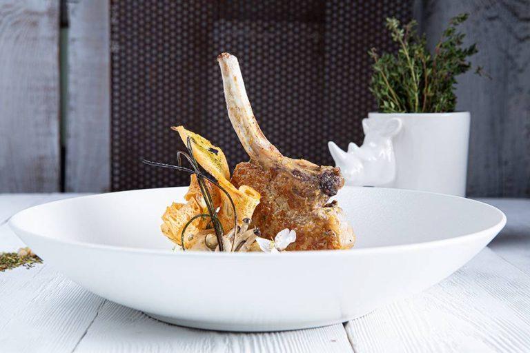 Χοιρινό iberico με fregola και σάλτσα orange & mint, Διονύσης Κιουρτζίδης, Ρινόκερος , 3