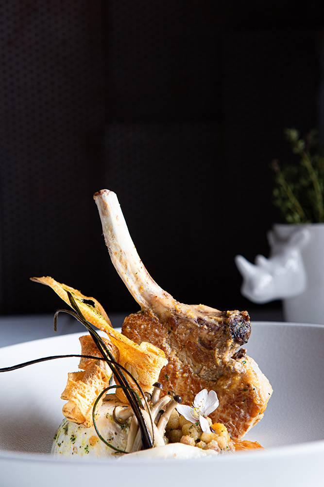 Χοιρινό iberico με fregola και σάλτσα orange & mint, Διονύσης Κιουρτζίδης, Ρινόκερος , 6