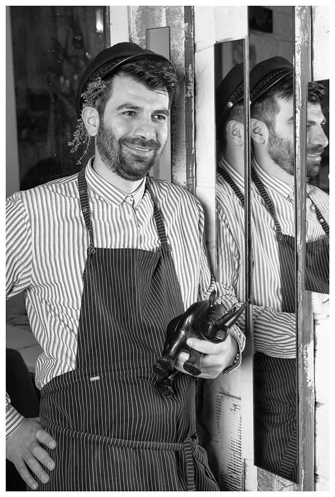 Χοιρινό iberico με fregola και σάλτσα orange & mint, Διονύσης Κιουρτζίδης, Ρινόκερος , 8