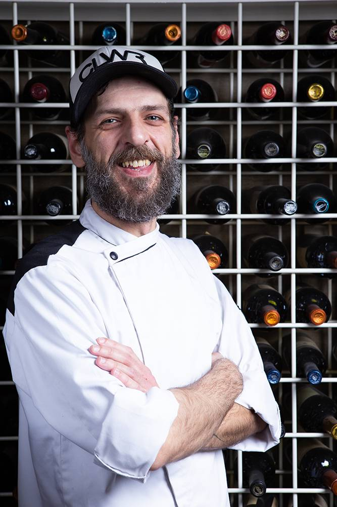 Χτένια με κρέμα αγκινάρας, bacon θαλάσσης & σμέουρα, Άγγελος Ρημάδης, Mangiare gastro bar, 8