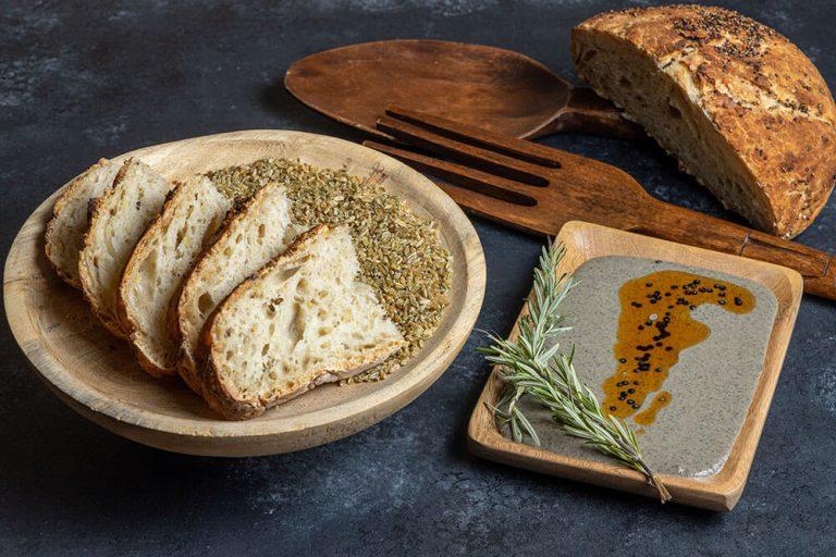 The ultimate bread basket, Χωριάτικο με πράσινο σιτάρι και κινόα, 1
