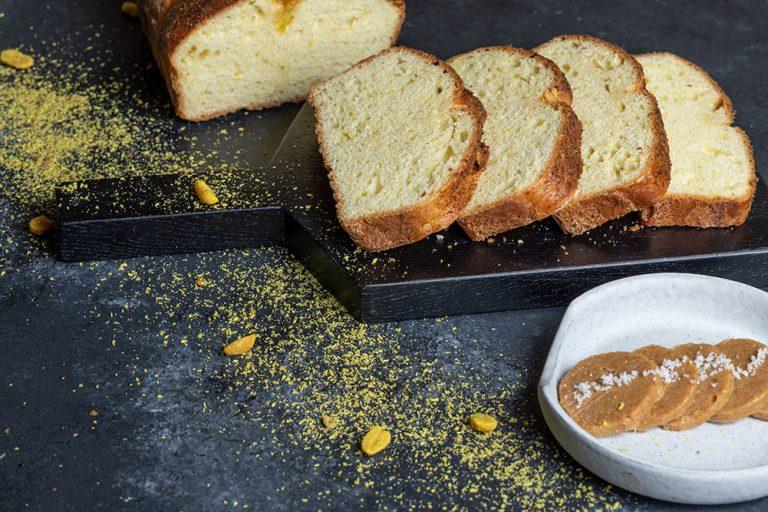 The ultimate bread basket, Brioche με καβουρδισμένη καρύδα και φυστίκια, 3