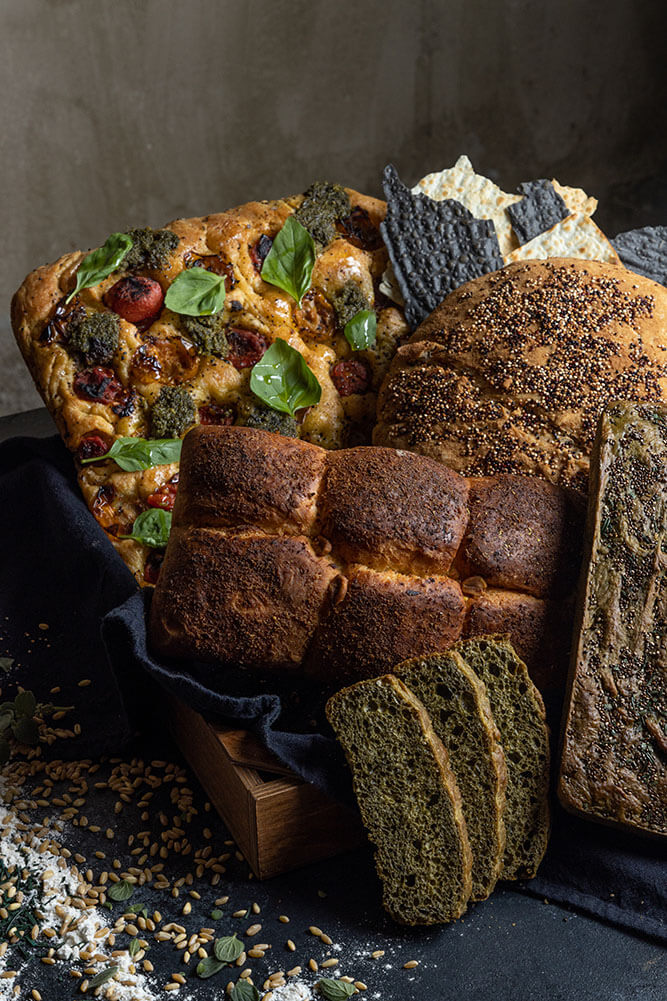 The ultimate bread basket, group, 3
