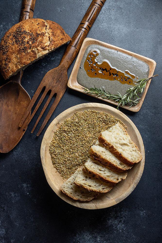 The ultimate bread basket, Χωριάτικο με πράσινο σιτάρι και κινόα, 3