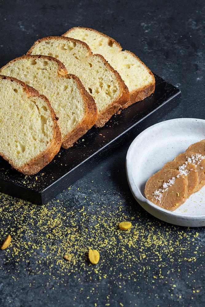 The ultimate bread basket, Brioche με καβουρδισμένη καρύδα και φυστίκια, 4
