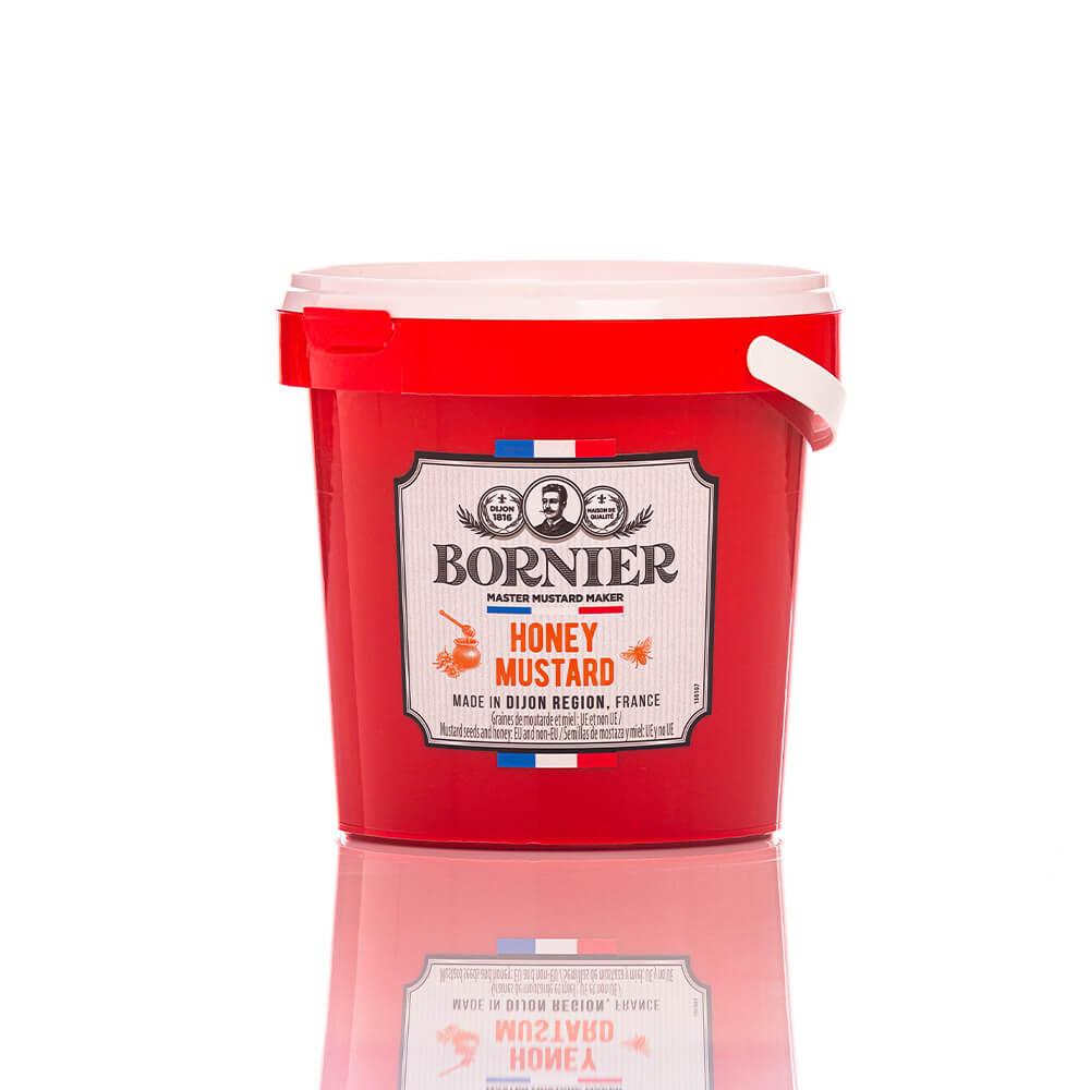 BOR03 Μουστάρδα Dijon με μέλι